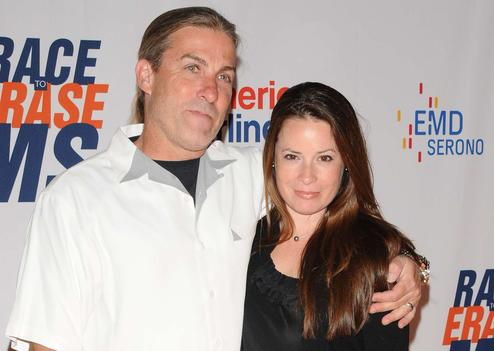 Holly Marie Combs couple