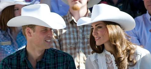 Kate et William lors du Tour Royal 2011 au Canada