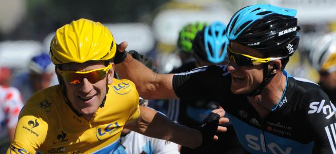 Bradley Wiggins gagne le Tour de France 2012