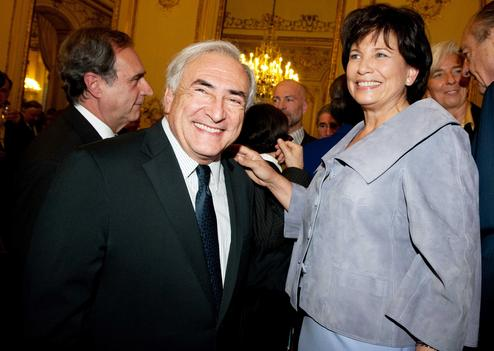 Dominique Strauss-Kahn et Anne Sinclair