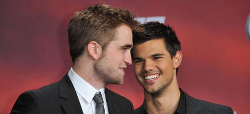 Robert Pattinson et Taylor Lautner