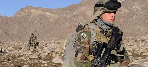 Un soldat français en Kapisa, en 2009 (photo d'illustration)