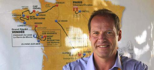 Christian Prudhomme, directeur du Tour de France