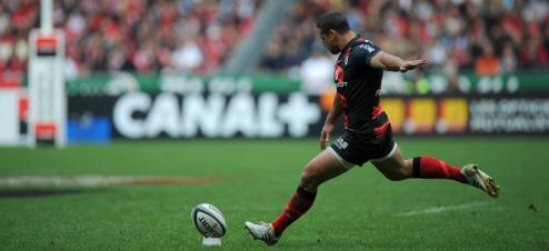 Luke McAlister a inscrit au pied les 18 points du Stade toulousain en finale du Top 14