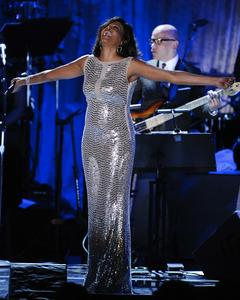 Whitney Houston sur scène en 2011. <em>SIPA/Mark J. Terrill/AP</em>