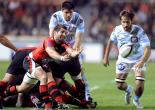 Top 14 : Le Racing s'incline face à Toulon