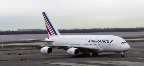 Un avion de la compagnie AIr France-KLM
