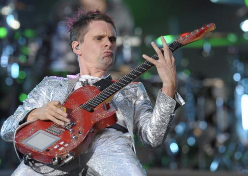 Matthew Bellamy le leader du groupe britannique