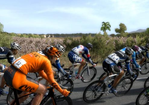 Pro Cycling Manager 2012 accorde une grande importance aux graphiques