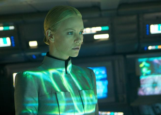 Charlize Theron est Meredith Vickers, chef de mission, dans ''Prometheus''  <em>Twentieth Century Fox</em>