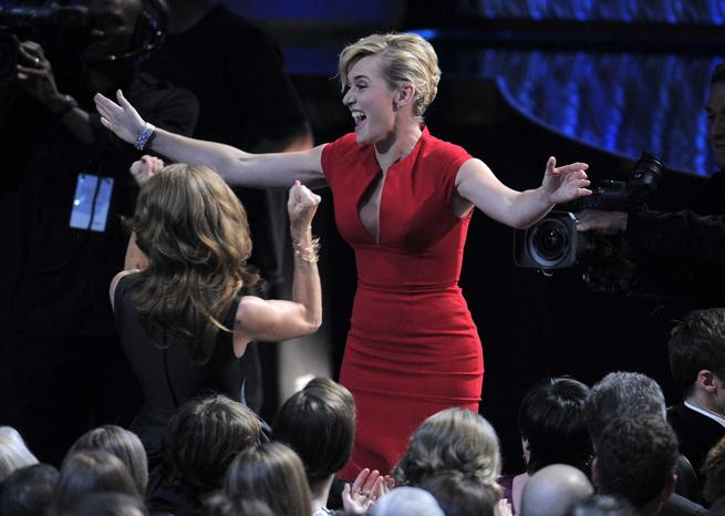 Kate Winslet aux Emmy Awards en septembre 2011 <em>SIPA/Mark J. Terrill</em>