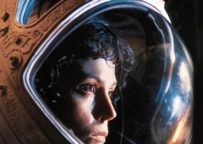 "Sigourney Weaver dans ""Alien, le 8e passager'' (1979)  <em>20th Century Fox</em>"
