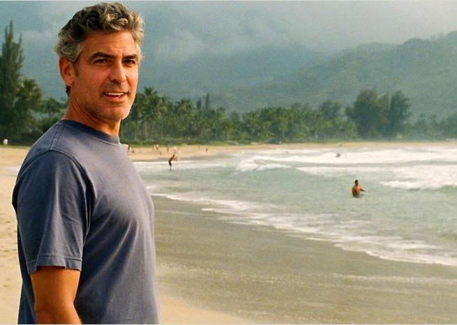 George Clooney dans ''The Descendants'' <em>Twentieth Century Fox</em>