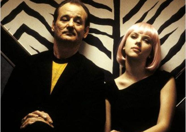 Scarlett Johansson avec Bill Murray dans ''Lost in Translation'' de Sofia Coppola (2004)  <em>Focus Features/Pathé Distribution</em>