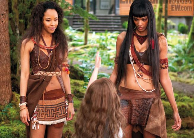 Mackenzie Foy, Tracey Heggins et Judith Shekoni  <em>DR/Summit Entertainment & Entertainment Weekly</em>